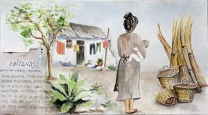 Boceto Mural San Isidro