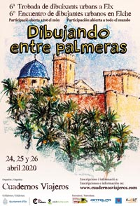 6º Encuentro de Dibujantes Urbanos en Elche